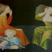 La chambre d'echo (Leonor Fini)