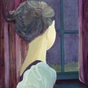 Meisje voor het raam