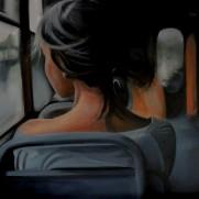 Het meisje op de trein