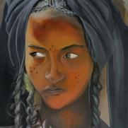 Girl in amber